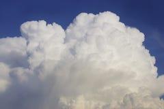 Cumulus Cloud. A large cumuls cloud in a blue sky Stock Image