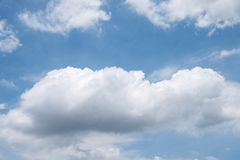 Free Large Cumulus Cloud. Stock Photography - 130087482