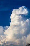 Large Cumulus Congestus Cloud Stock Image