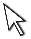 Large Cursor Arrow Royalty Free Stock Image