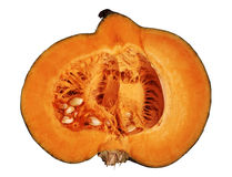 Large cutting pumpkin Royalty Free Stock Images