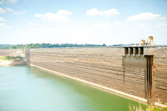 The large dam Stock Photography