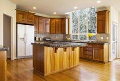 Large Daylight Kitchen stock images