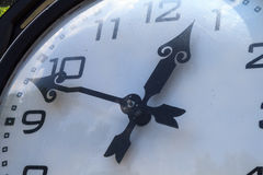 Large decorative clock Stock Photography