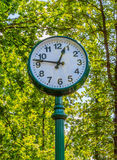 Large decorative clock Royalty Free Stock Image