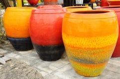 Large decorative vases Royalty Free Stock Image