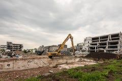 Large demolition site Stock Photos