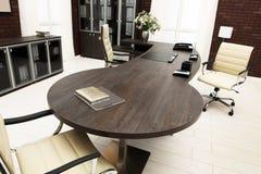 Large desk Royalty Free Stock Image
