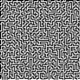 Large detailed labyrinth Royalty Free Stock Photo