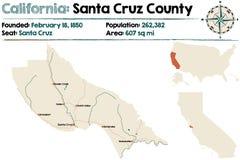 Santa Cruz county in California Stock Image