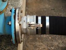 Large Diameter Fuel Hose Royalty Free Stock Image