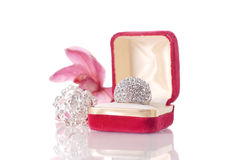 Large Diamond Ring Stock Image