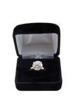 Large diamond ring Stock Photo