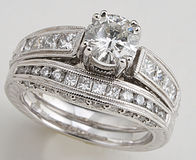 Large Diamond Ring Stock Images