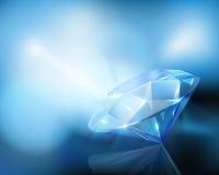 Large diamond. Vector illustration. Royalty Free Stock Photos