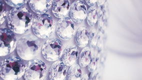 Large diamonds on wall. stock footage