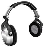 Large DJ Headphones Royalty Free Stock Photo
