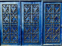 Large Door Decor Royalty Free Stock Photography
