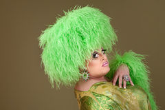 Large Drag Queen Royalty Free Stock Image