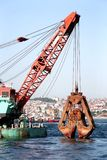 Large dredger scoop Royalty Free Stock Photo
