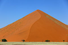 Large dune in Namib Royalty Free Stock Photography