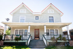 Large Duplex Home Stock Images