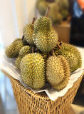 Large durians Royalty Free Stock Photo