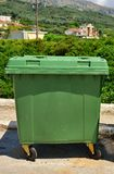 Large Dust Bins Royalty Free Stock Photography