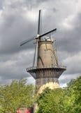 Large Dutch Windmill Stock Photos