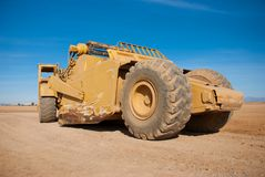 Large Earth Mover Profile Stock Photo