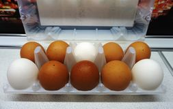 Large eggs stock images