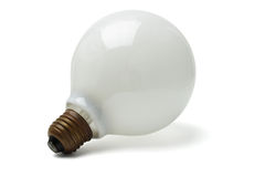 Large electric lightbulb Stock Photography