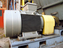Large electric motor Royalty Free Stock Images
