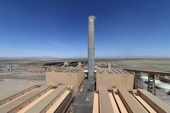 Large Coal Fired Electric Power Plant Stock Images