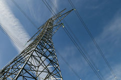 Large Electric Tower Stock Photo