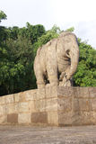 Large elephant sculpture Royalty Free Stock Photo