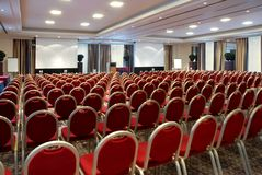 Free Large Empty Conference Centre Stock Photography - 4998172