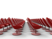 Large empty conference centre Royalty Free Stock Image