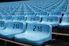 Large empty stadium seating Royalty Free Stock Photography