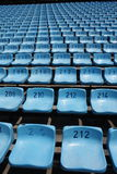 Large empty stadium seating Stock Photos