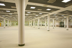 Large emty room. In business center royalty free stock images