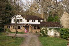 Large English House Royalty Free Stock Photography