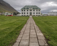 Large Estate Isafjordur Iceland Royalty Free Stock Photo