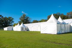Large event tent stock photo