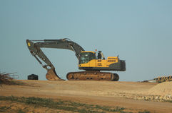 Large excavator Royalty Free Stock Photography