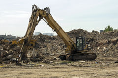 Large excavator Stock Photography