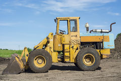 Large wheel Loader  Royalty Free Stock Photos