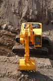 Large excavator working Stock Photography