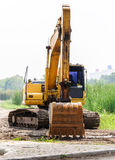 Large excavators Stock Photos