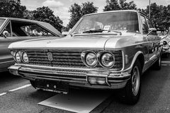 Large executive car Fiat 130 Stock Images